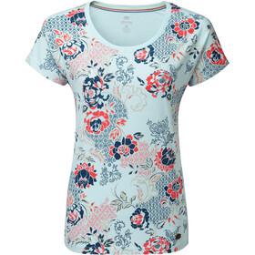 Sherpa Meytho Camiseta Mujer, umber blue